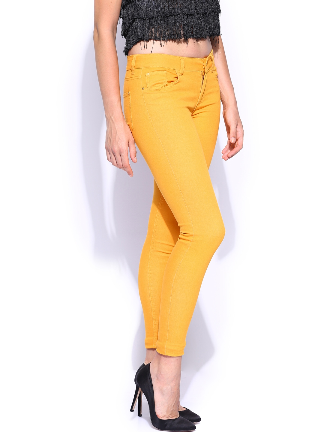matches. ($ - $) Find great deals on the latest styles of Yellow skinny jeans womens. Compare prices & save money on Women's Jeans.