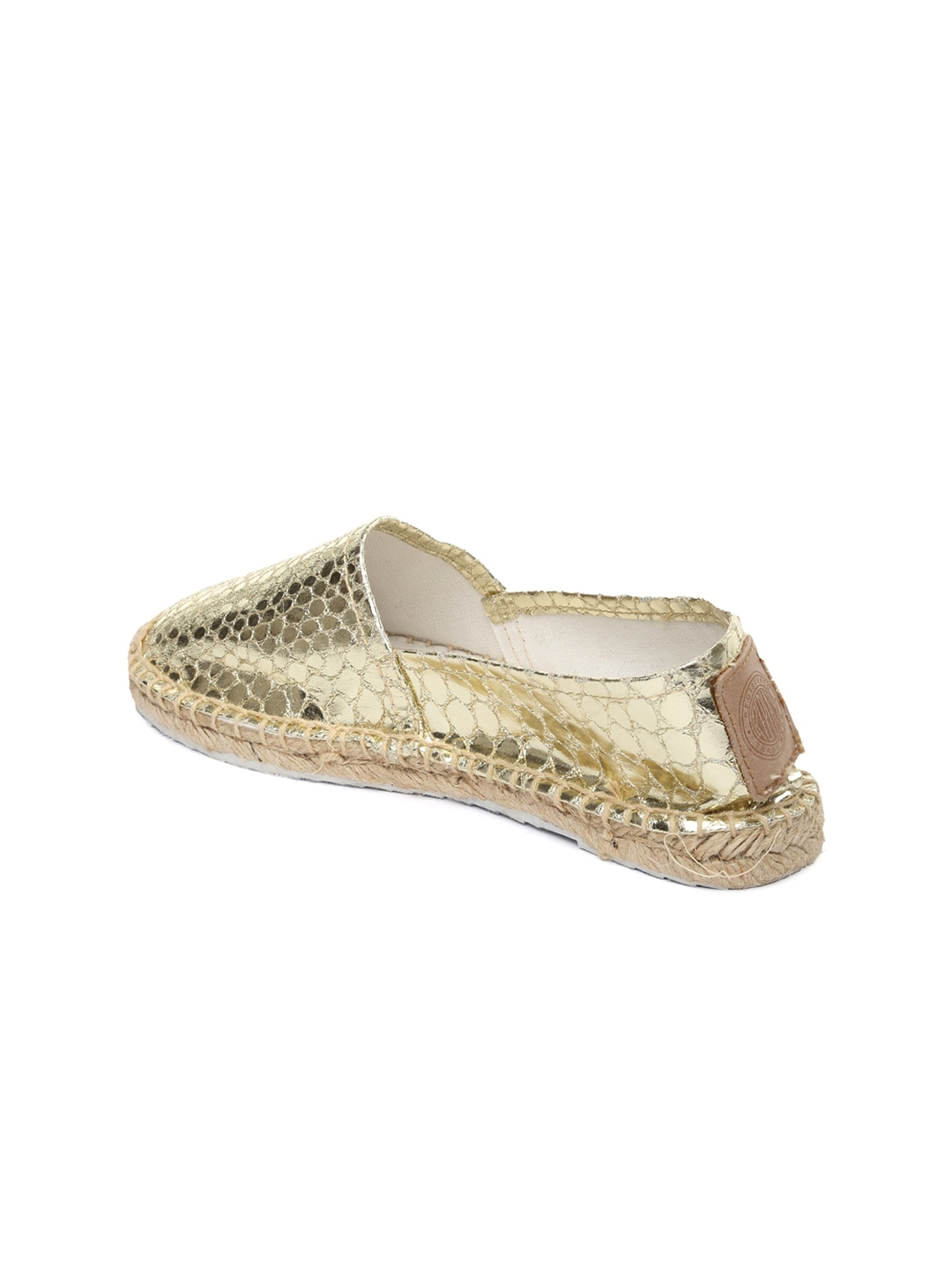 myntra replay gold toned casual shoes 694325 buy