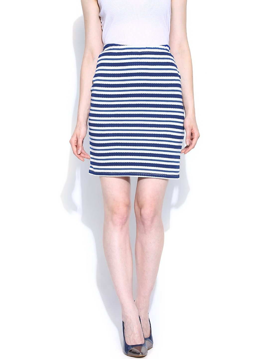 Find blue and white pencil skirt at ShopStyle. Shop the latest collection of blue and white pencil skirt from the most popular stores - all in one.