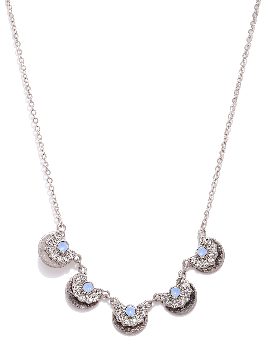 myntra accessorize goldtoned chain necklace 698972 buy