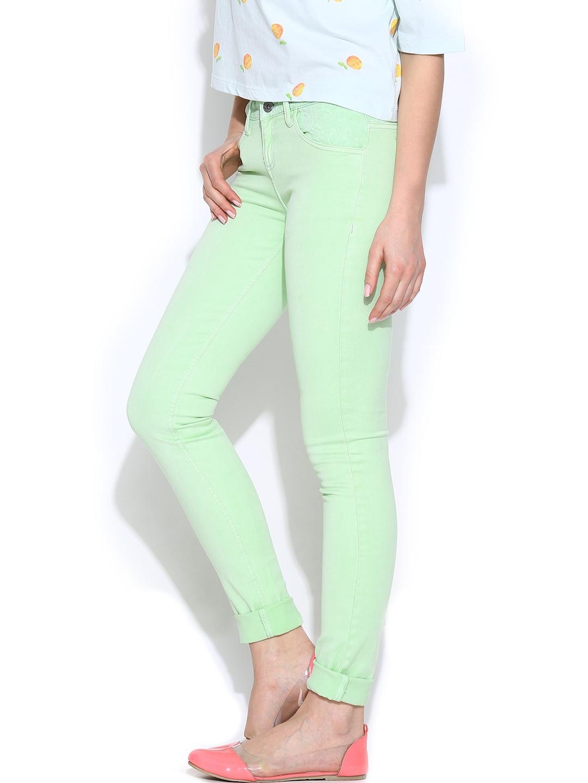 New Kloth Diana Skinny Jeans In Mint Mint Women S Jeans