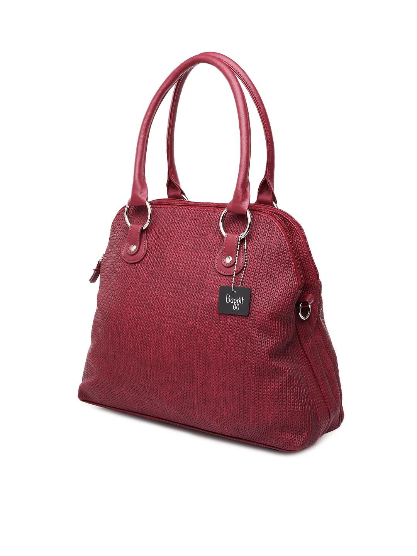Buy Baggit Maroon Handbag - Handbags for Women   Myntra