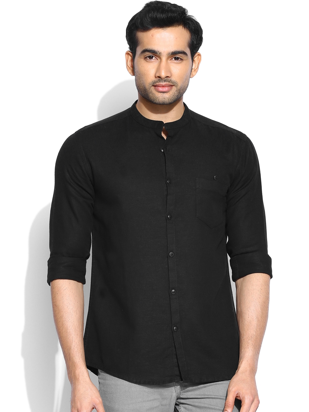 Find mens black linen shirts at ShopStyle. Shop the latest collection of mens black linen shirts from the most popular stores - all in one place.