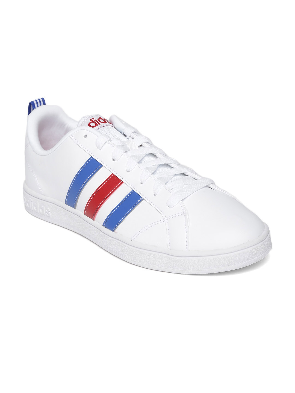 myntra adidas neo white advantage vs casual shoes