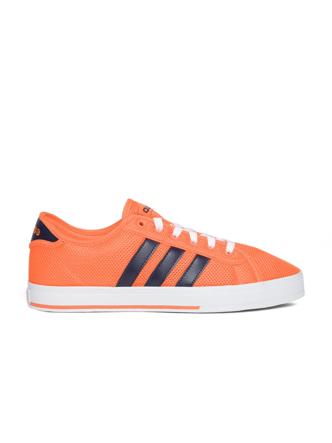 adidas neo bleu orange