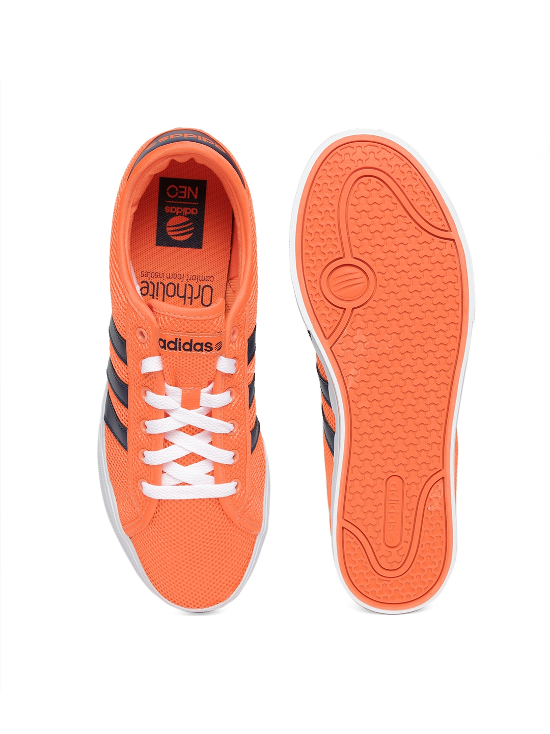 wholesale dealer 5b100 69624 ... adidas neo shoes orange ...