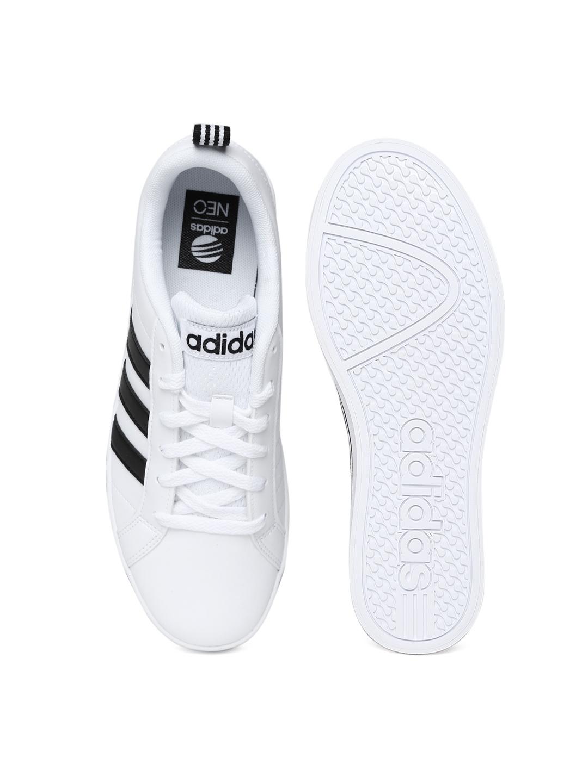 Adidas Neo White Pace Vs Sneaker