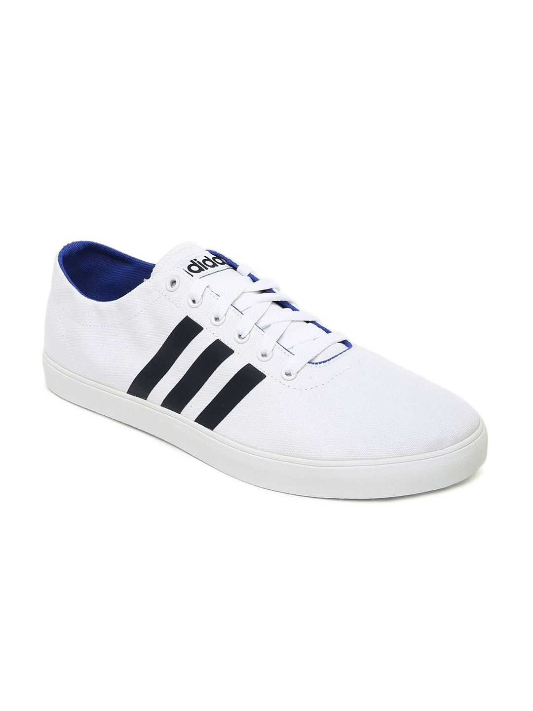 myntra adidas neo white easy vulc vs casual shoes