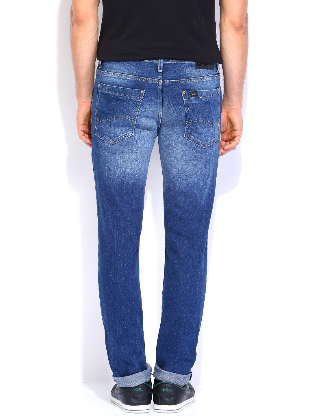 Myntra Lee Men Blue Br...