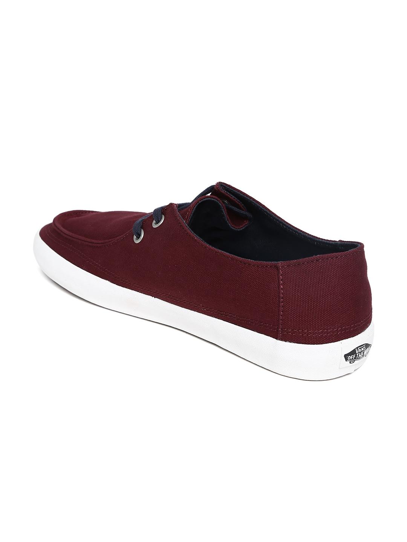 myntra vans burgundy casual shoes 705336 buy myntra