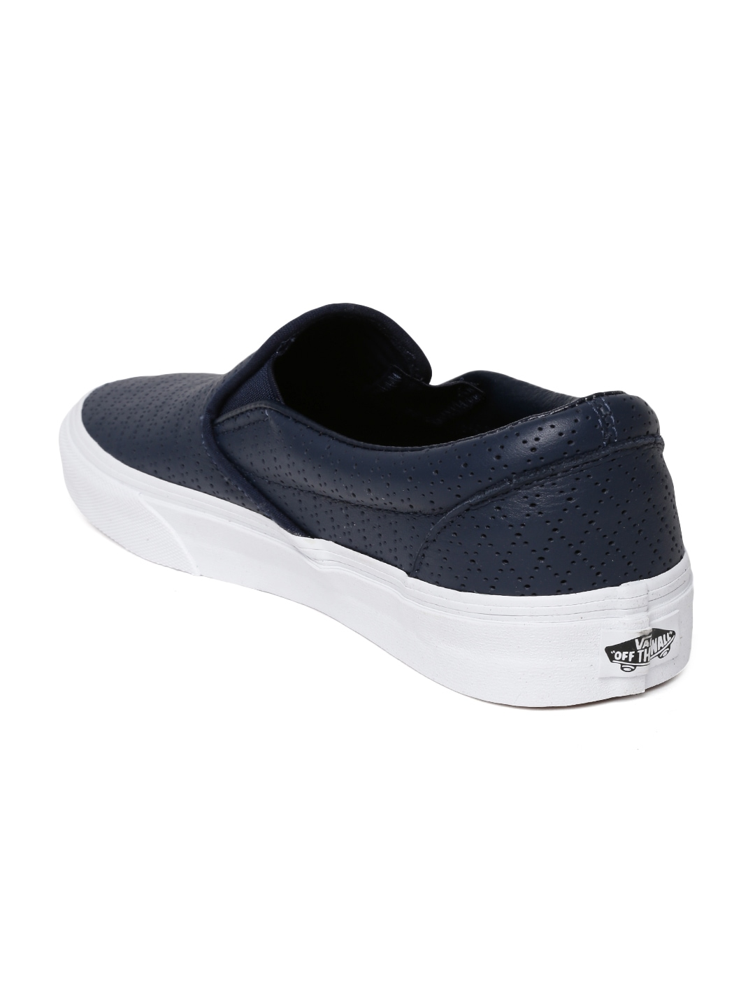 myntra vans unisex navy leather casual shoes 705415 buy