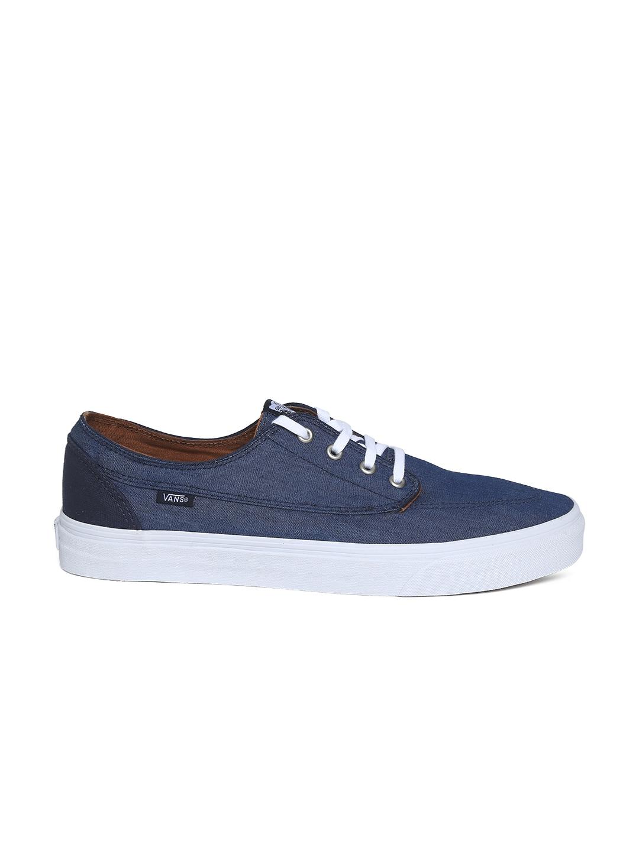 myntra vans unisex navy casual shoes 705428 buy myntra