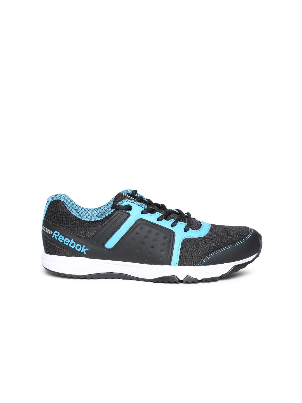 myntra reebok black fury road lp running shoes
