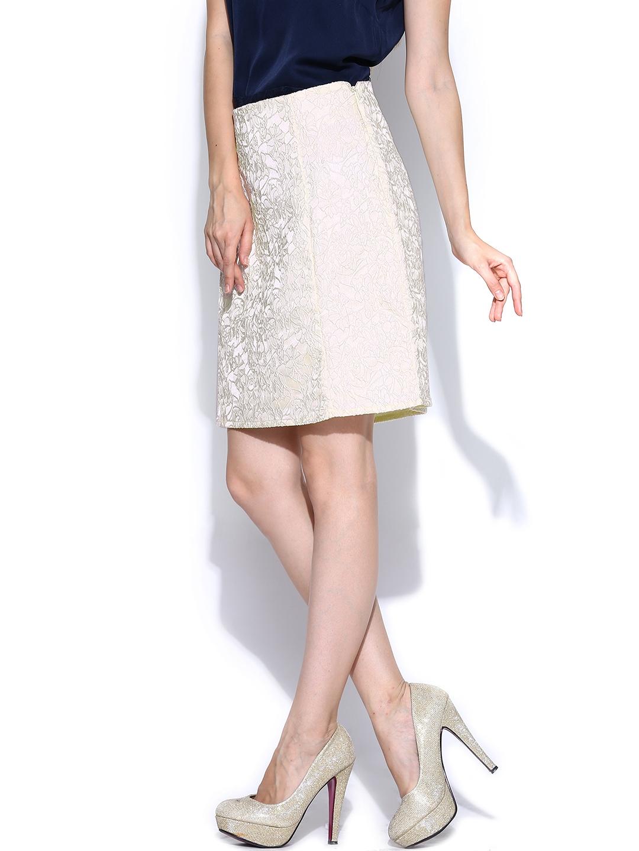 myntra vero moda coloured pencil skirt 706986 buy