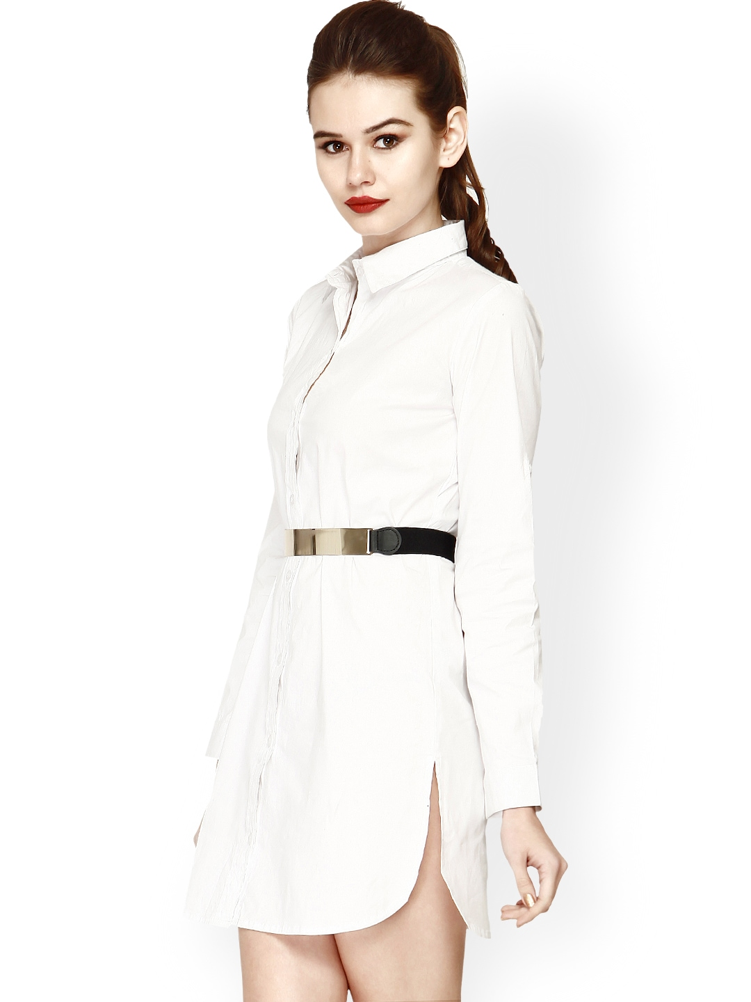 Myntra faballey women white shirt dress 707831 buy Buy white dress shirt