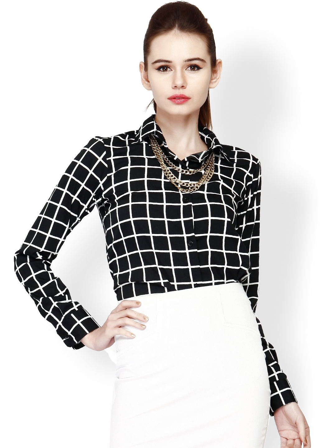 Buy White Women Shirts online in India. Huge range of White Shirts for Women at getdangero.ga Free Shipping* 15 days Return Cash on Delivery. Toggle navigation. Jabong. SHOP YOUR PROFILE. women. W White & Black Printed Casual Shirt. (%) Sizes 18 16 14 12 10 8 6. Add To Wishlist.