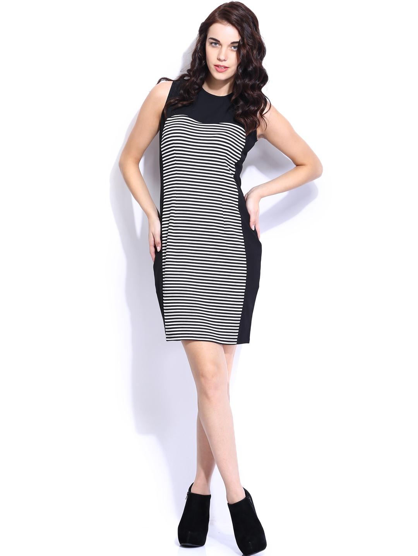Creative Trendin  Van Heusen Grey Dress For Women At Trendincom