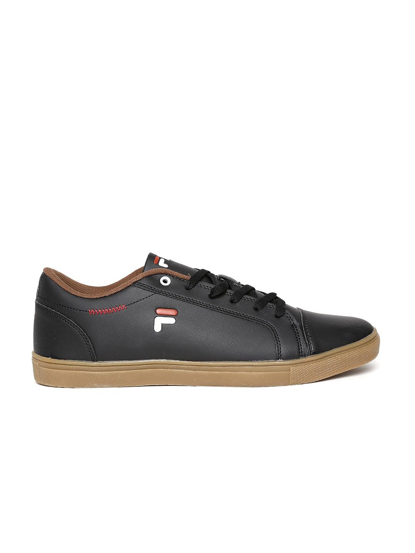 myntra fila black drago casual shoes 713730 buy