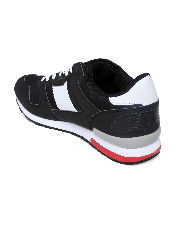 myntra fila black orso casual shoes 713733 buy