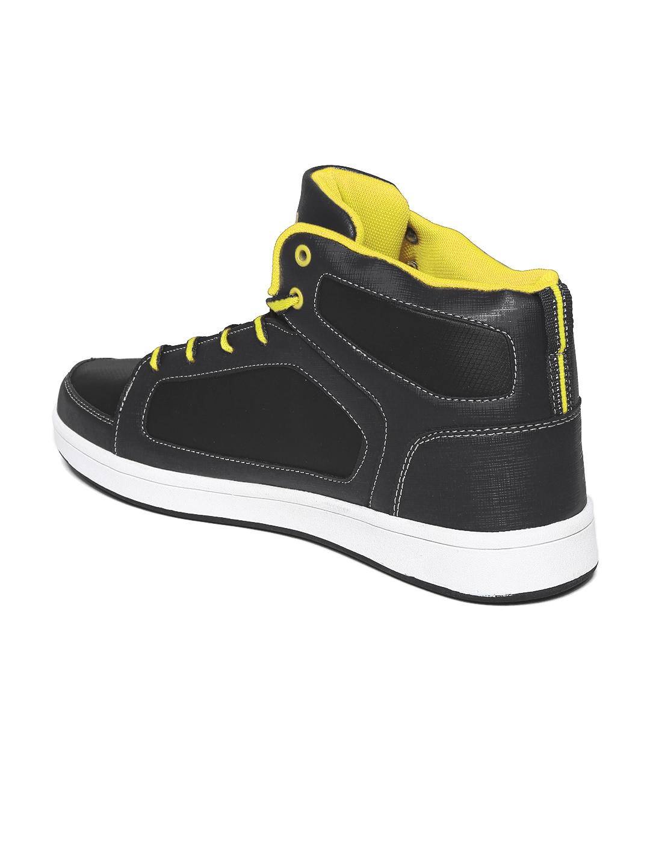 myntra fila black massimo casual shoes 713756 buy