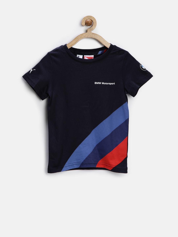 Myntra puma boys red polo t shirt 786616 buy myntra puma for Bmw t shirt online