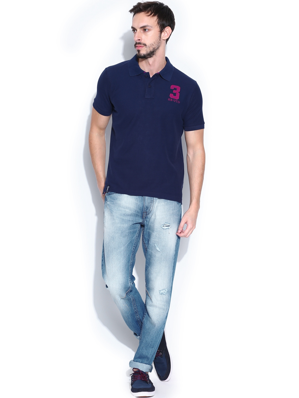 pepe jeans mens polo t shirt. Black Bedroom Furniture Sets. Home Design Ideas