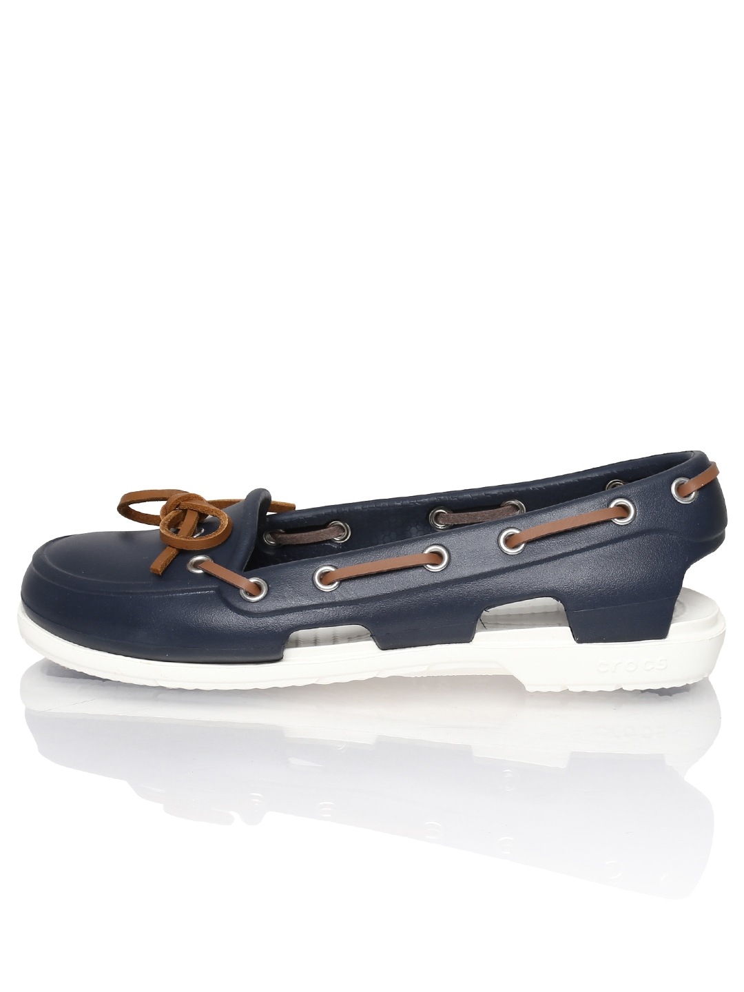 SO Boat Shoes - Women with sequins, navy and white stripes   Boat