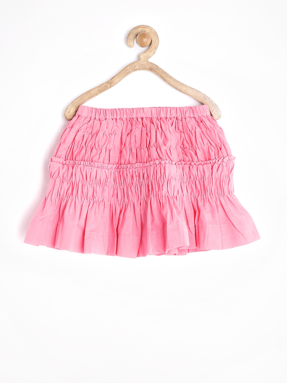 myntra gini and jony pink a line skirt 723217 buy