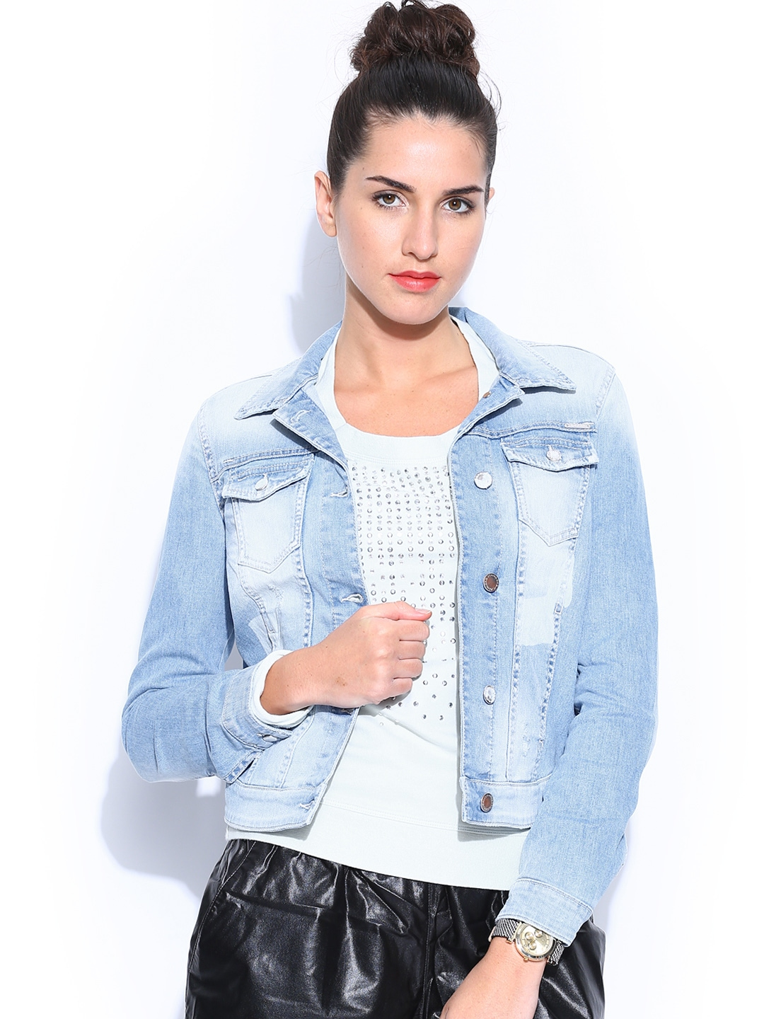 Denim jackets for womens online india – New Fashion Photo Blog