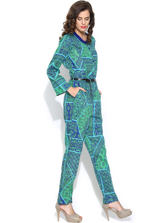 Fantastic Pinko  Green Jumpsuits Women  Lyst
