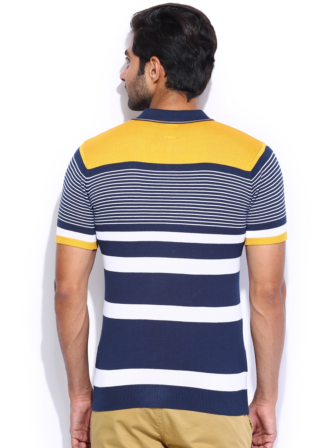 Cover your body with amazing Blue And Yellow Striped t-shirts from Zazzle. Search for your new favorite shirt from thousands of great designs!