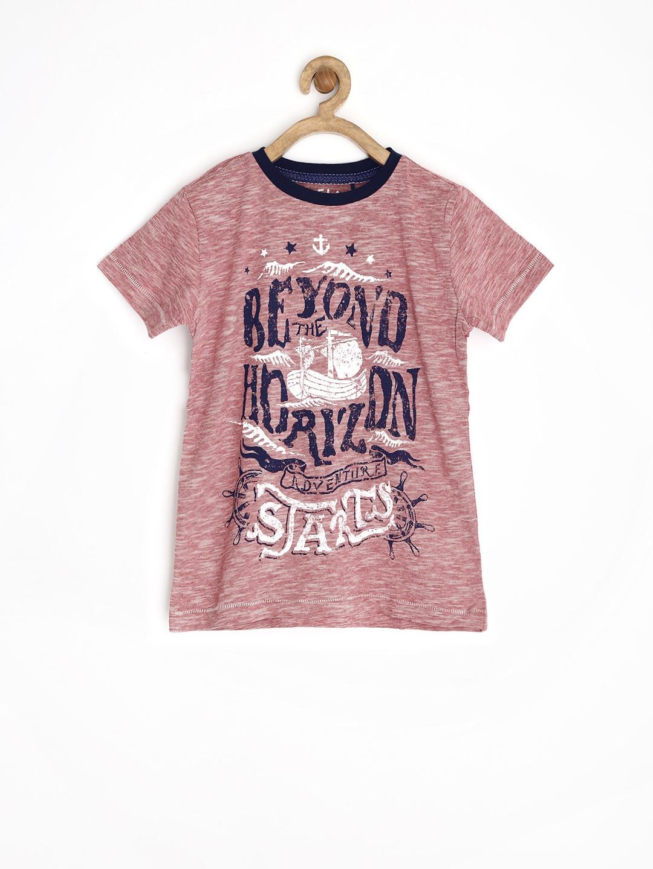 Myntra sela boys red printed t shirt 730401 buy myntra for Boys printed t shirts