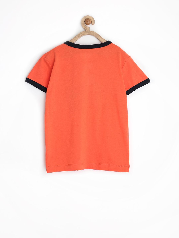 Myntra sela boys orange printed t shirt 730430 buy for Boys printed t shirts