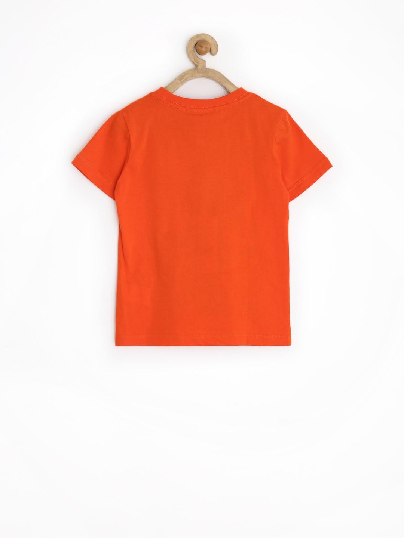 Myntra sela boys orange printed t shirt 730455 buy for Boys printed t shirts