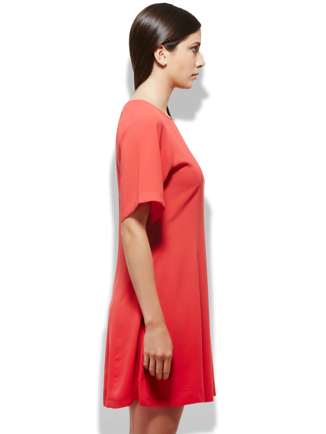 Myntra united colors of benetton red shift dress 730553 for Shop online benetton