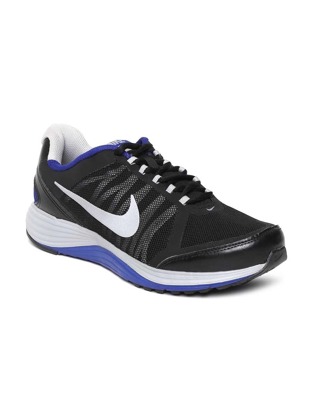 myntra nike black revolve 2 sports shoes 731397 buy