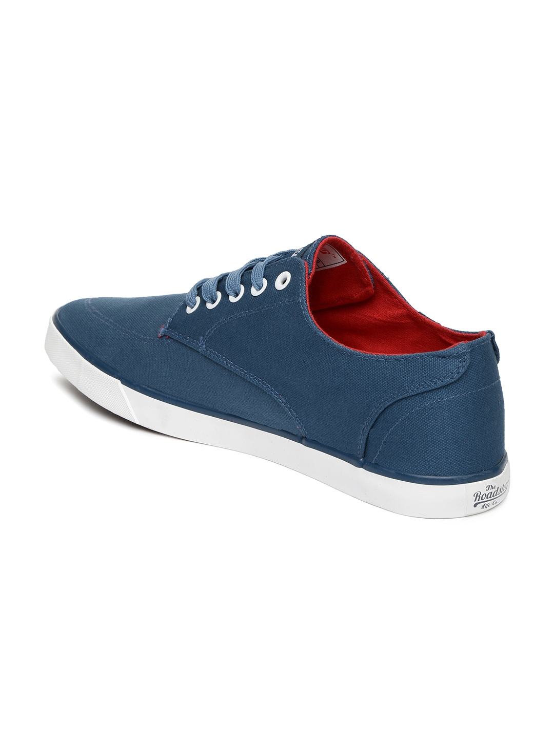myntra roadster blue casual shoes 733601 buy myntra