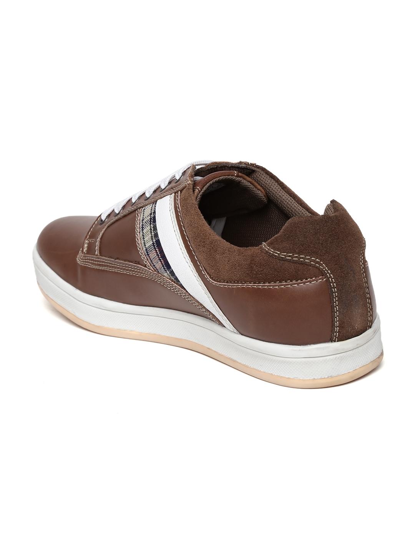 myntra numero uno brown casual shoes 735142 buy