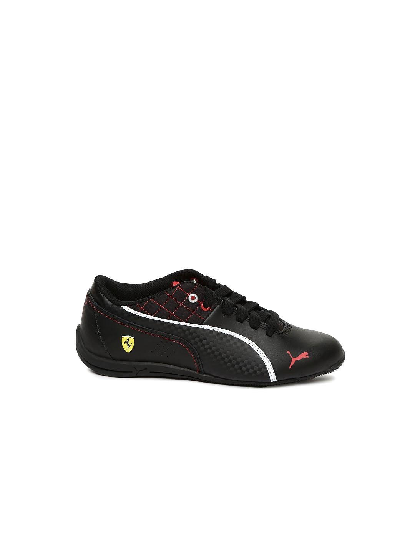 myntra black drift cat 6 l sf casual shoes