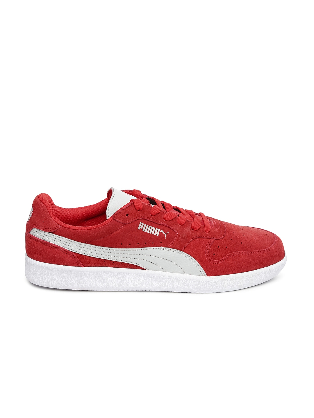 myntra puma men red icra casual shoes 740167 buy myntra