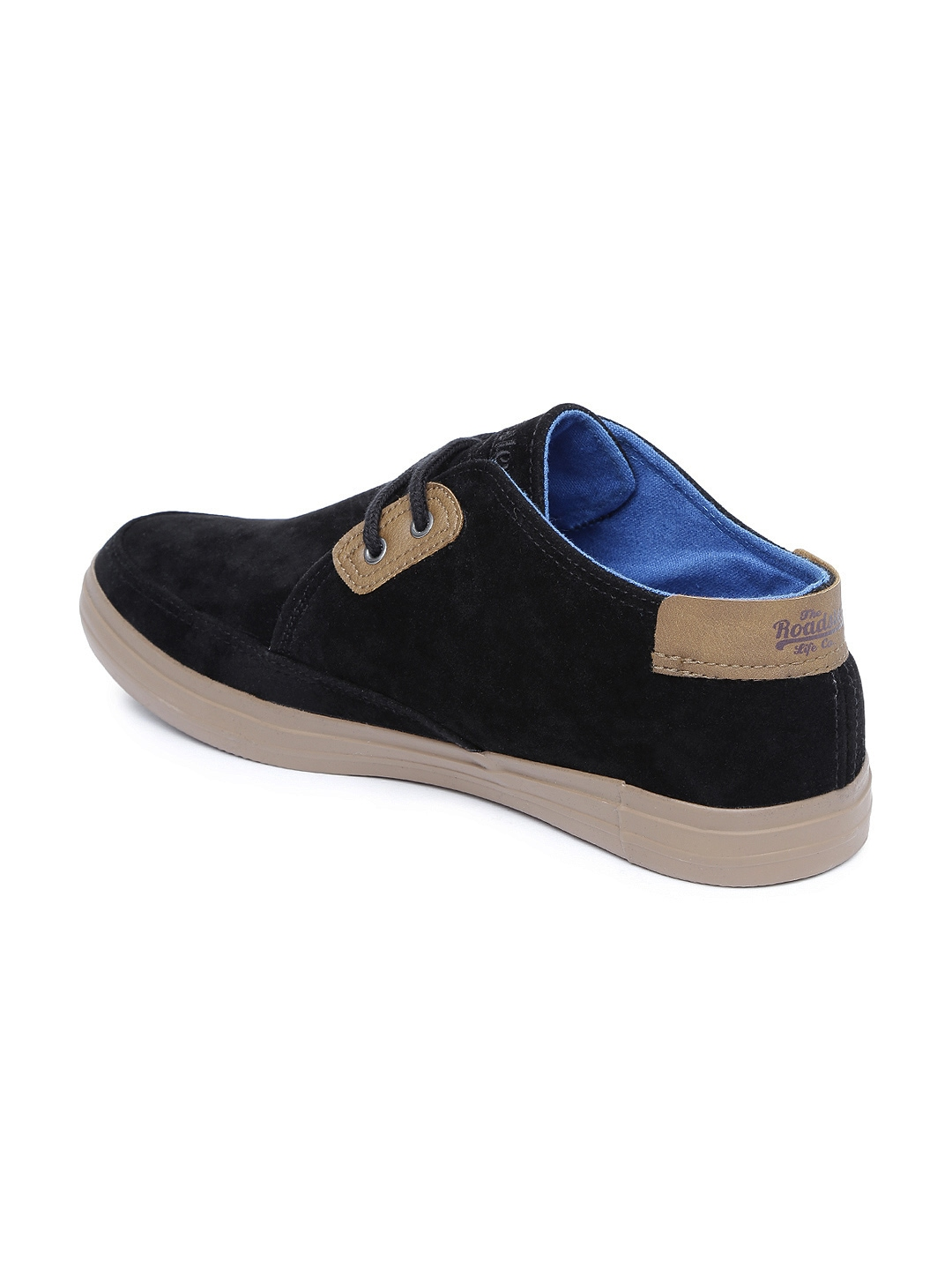 myntra roadster black casual shoes 743495 buy myntra