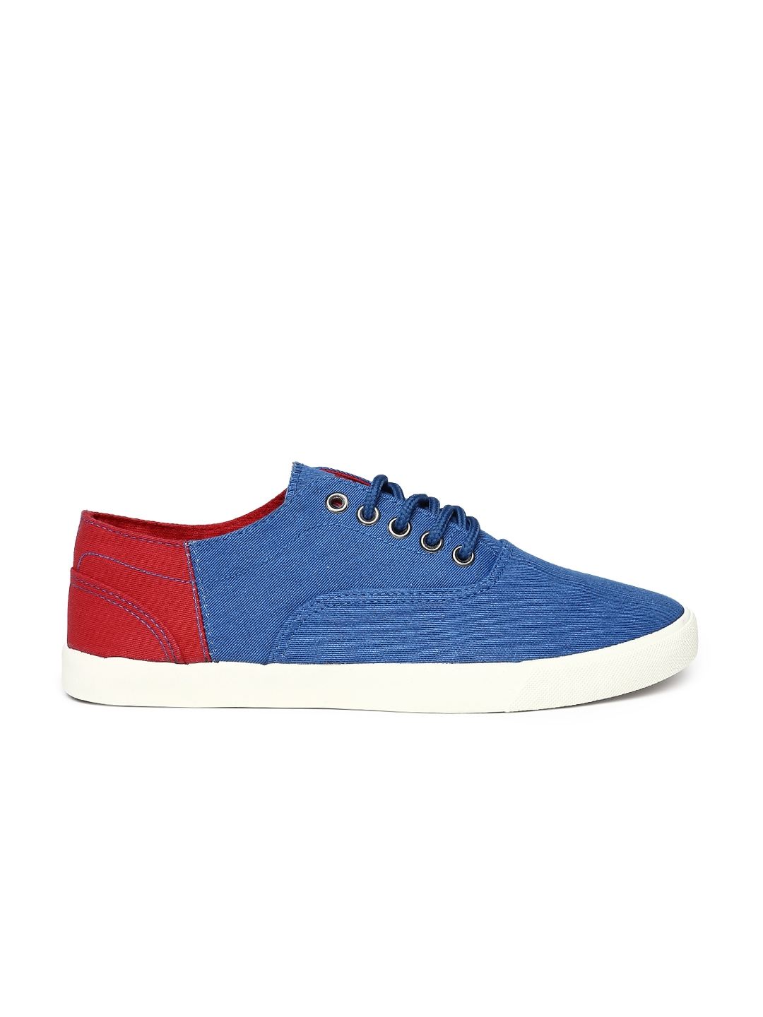 myntra roadster blue casual shoes 744753 buy myntra