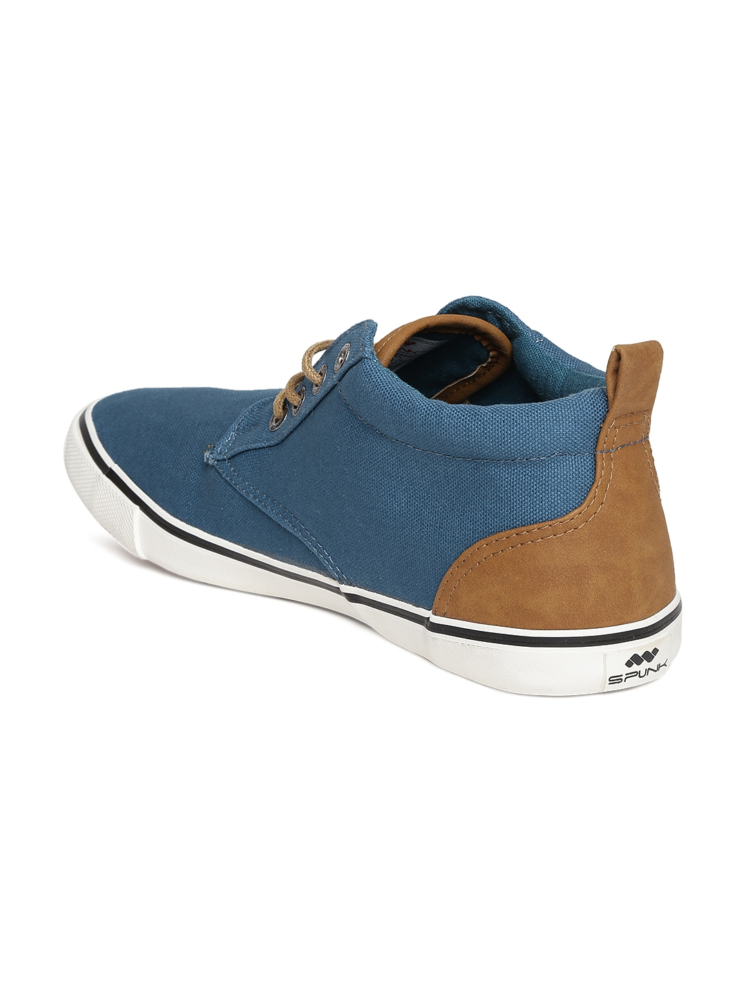 myntra teal blue canvas shoes 745463 buy