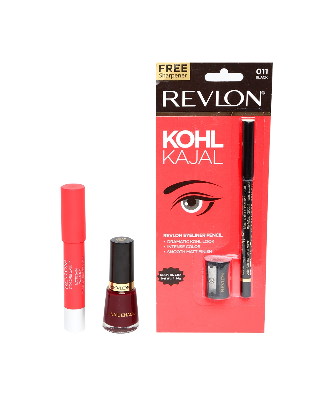 Myntra Revlon Beauty Product Set with Free Kohl Kajal ...