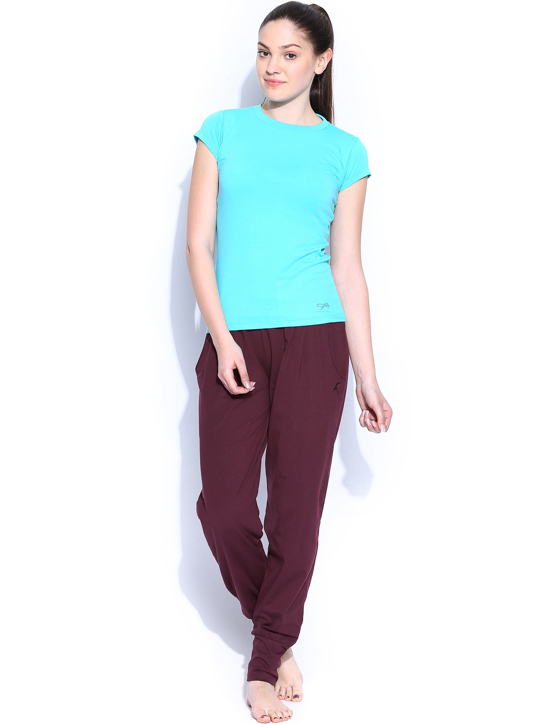 Beautiful Burgundy Capoeira Pants For Women  CapoeiraWorldcom