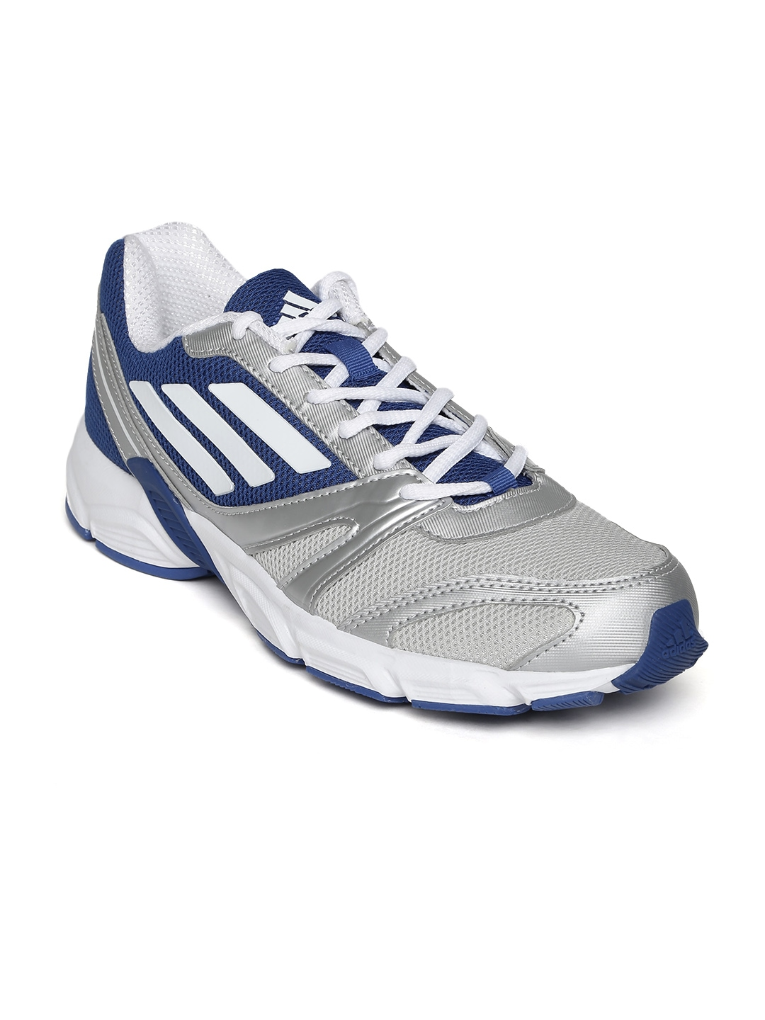 myntra adidas grey blue hachi running shoes 747928