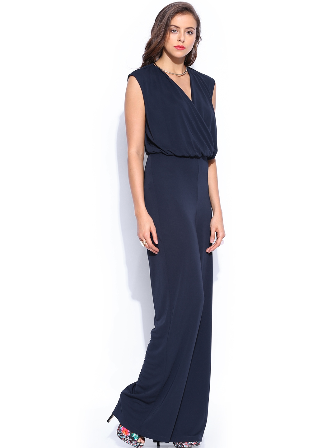 Elegant For TFC Women Navy Jumpsuit 763830  Buy Myntra Pera Doce Jumpsuit