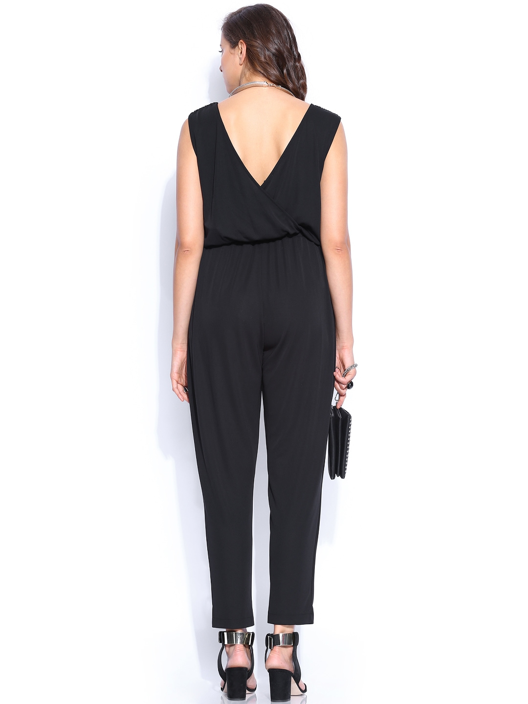 Cool Myntra MANGO Women Black Jumpsuit 748384  Buy Myntra MANGO Jumpsuit