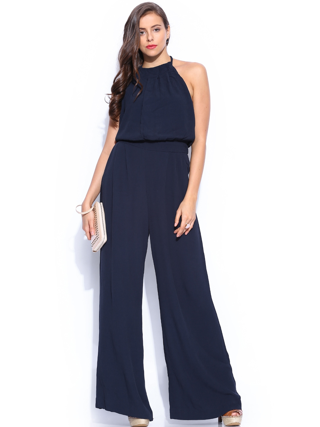 Awesome Navy Jumpsuit