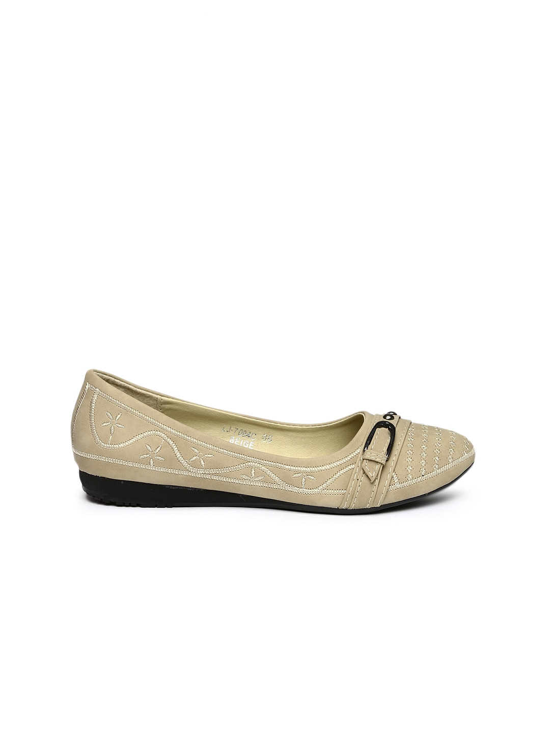 Excellent Addons Women Light Brown Flat Shoes 243986  Buy Myntra Addons Flats